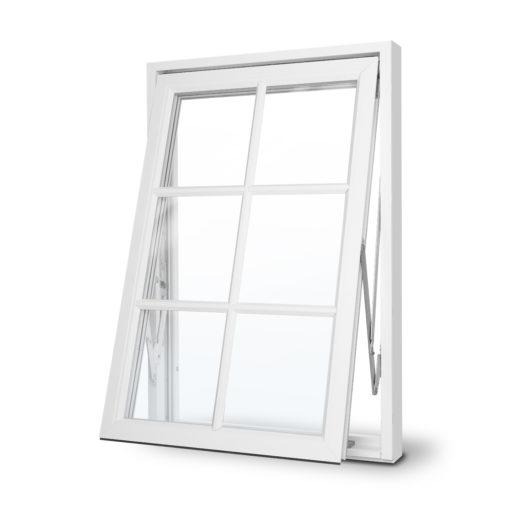 Mockfjärds Ultimat vridfönster med spröjs