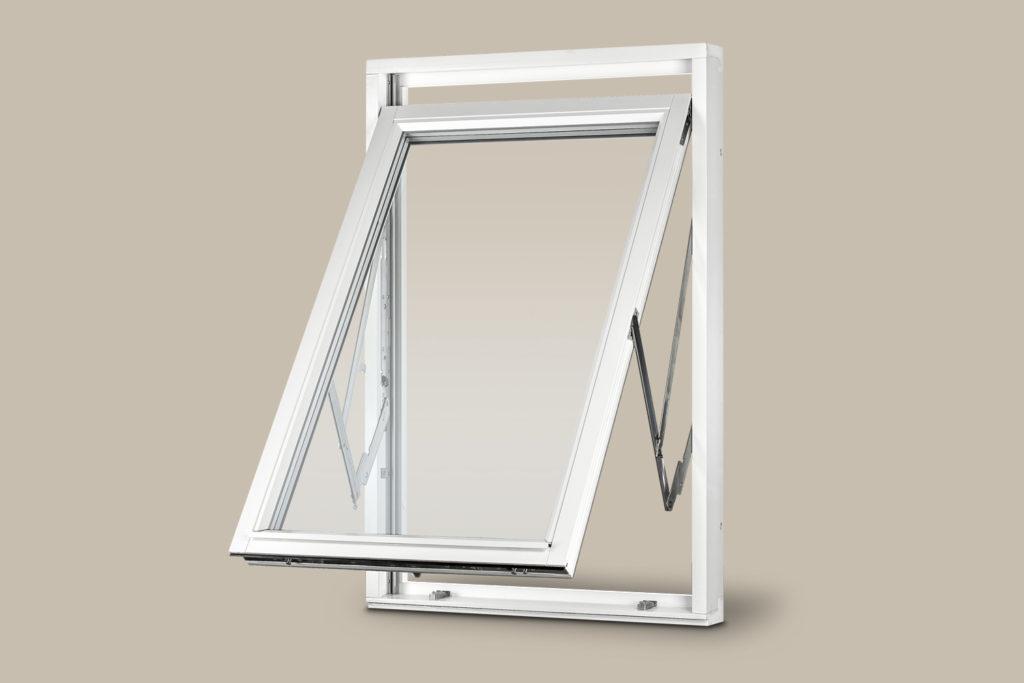 Öppen prima fönster mockfjärds