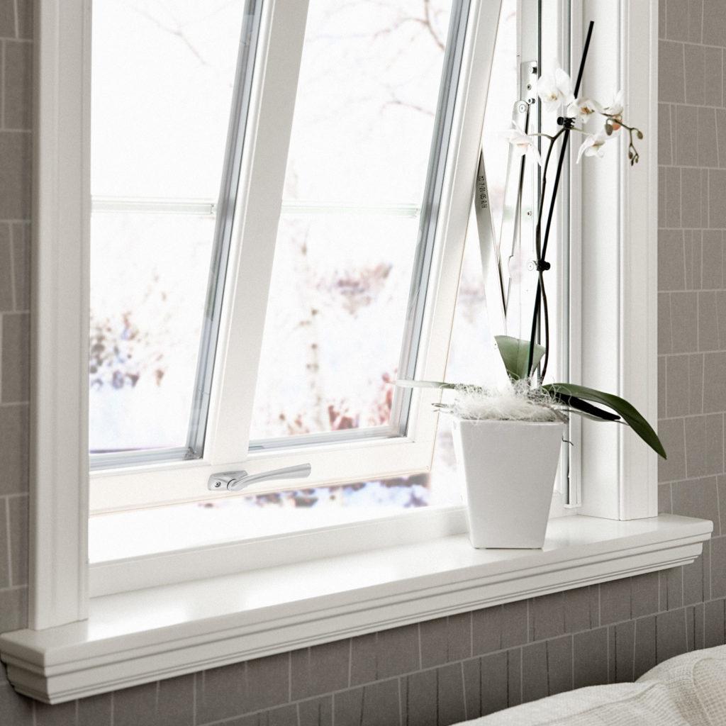 Prima fönster öppen miljöbild