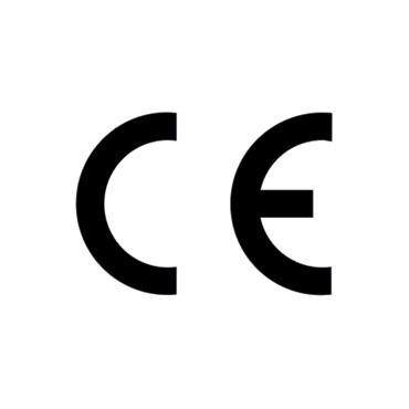 CE – CE-märket intygar att produkten uppfyller EU:s grundläggande hälso-, miljö- och säkerhetskrav.