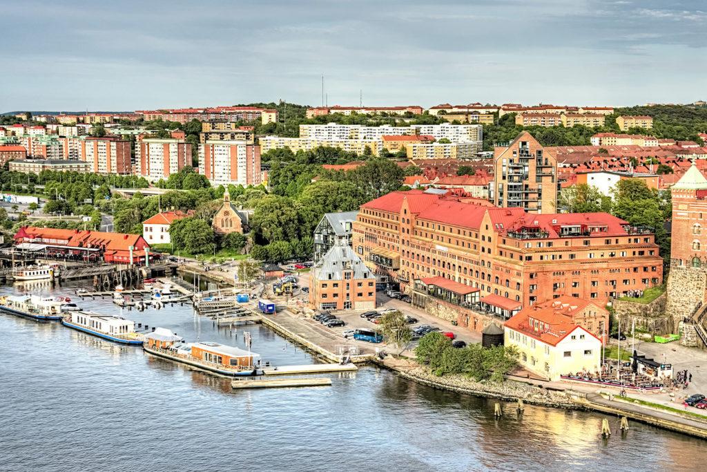 Göteborg med omnejd