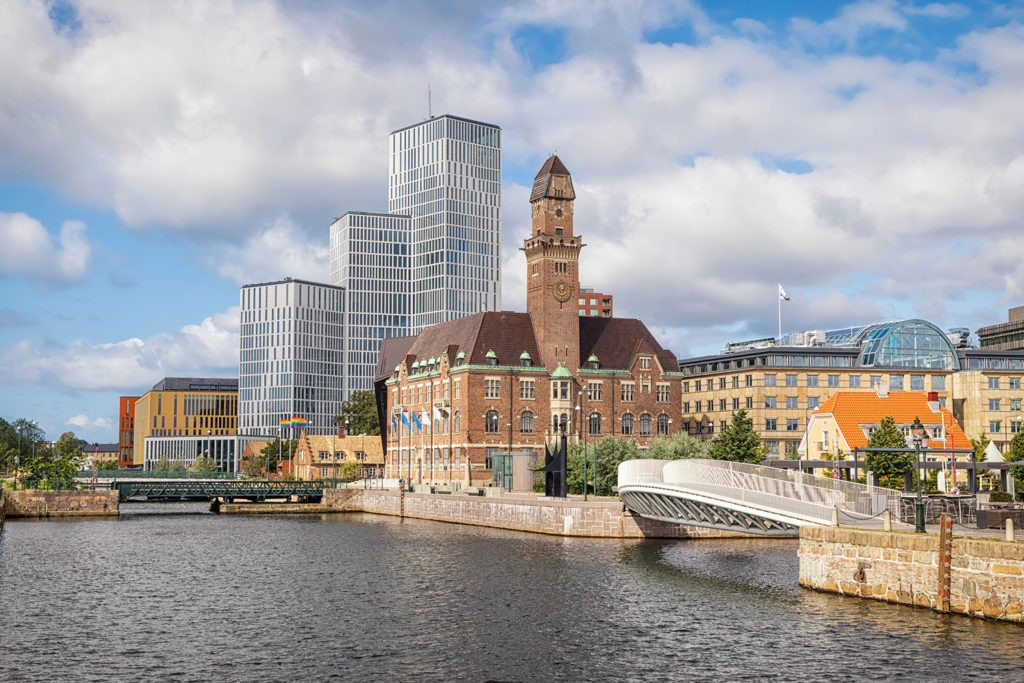 Malmö med omnejd