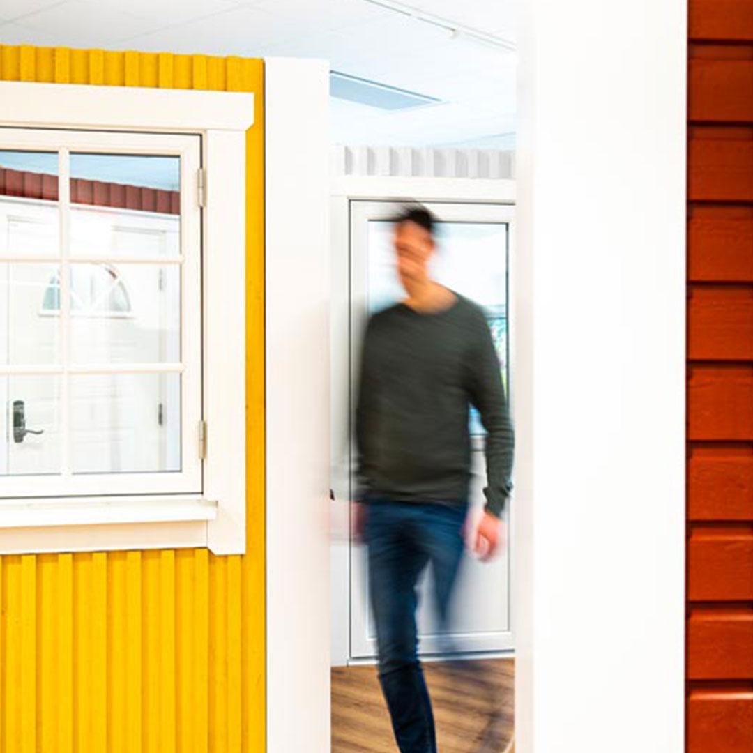 Mockfjärds fönsterbutik interiör