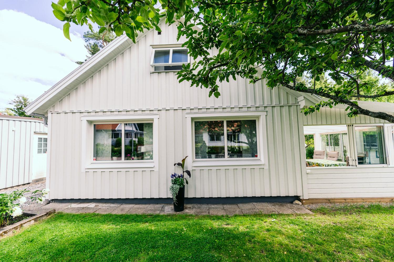 Villa med Mockfjärds fönster Prima