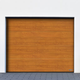 Garageport_Mockfjärds_L-profil_Decocolor_GoldenOak