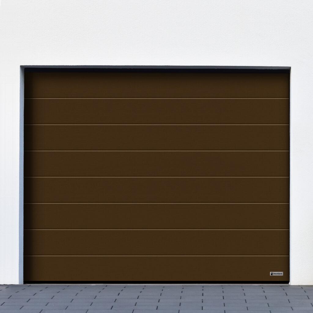 M-profil_woodgrain_RAL8028